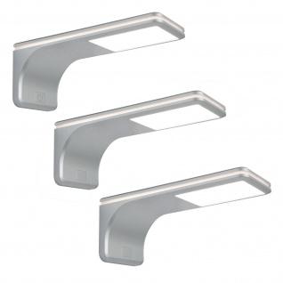 LED Set Küchen Unterbauleuchte ERLE 3 x 3, 5 W Touch Dimmer Neutralweiss *564026