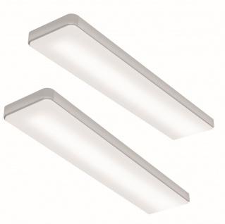 2er-Set LED Küchen Unterbauleuchte 4000 K Dimmer 2 x 6 W Konverter Touch *555123