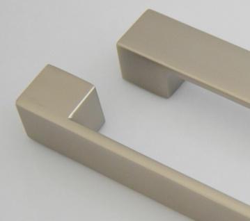 Küchengriffe Schrankgriff BA 160 mm Möbelgriffe Edelstahl Optik Türgriff *626-07 - Vorschau 4