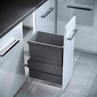 Mülleimer Küche Schrank 30 cm Hailo Cargo 30 L Mülltonne Einbau *569496