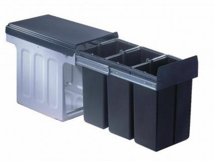 Küchen Einbau Mülleimer 3x8 Liter Bioeimer Wesco Mülltrenner Abfalleimer *40317