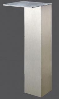 Wesco Stützfuss 8 x 8 cm Möbel Tischbein 110 cm Tragkraft max 200 Kg *47137