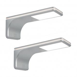 LED Set Küchen Unterbauleuchte ERLE 2 x 3, 5 W Touch Dimmer Neutralweiss *564019