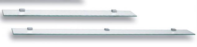 Badezimmer Glasablage Sicherheitsglas 80, 100 cm Badablage Glasbord Glasboden *GB