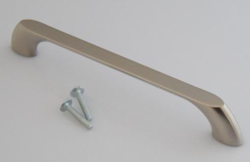 Schrank Möbelgriff BA 160 mm Bogen Bügelgriff Edelstahloptik Tür Küchengriff 653