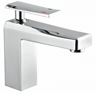 Badezimmer Waschbecken Armatur Wasserhahn Einhebel Einhandmischer Chrom *0483