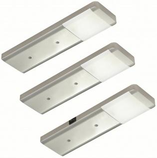 LED Unterbauleuchten-Set Küche 3x2, 5 W Unterbaulampe Fjona neutralweiß *556373