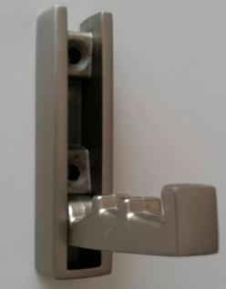 Klapphaken Garderobenhaken klappbar Wandhaken Edelstahl Optik matt *1432-13 - Vorschau 3