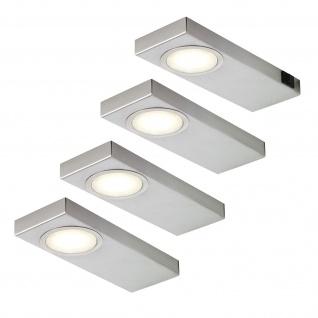 4-er Set LED Küchen Unterbauleuchte je 3, 5 Watt Neutralweiss 4000 Kelvin *549306