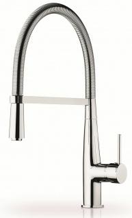 Küchenarmatur schwenkbar Einhandmischer chrom flexible Geschirrbrause *090914203