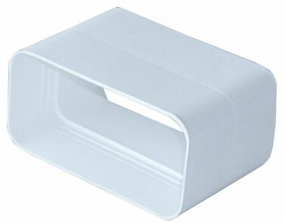 Flachkanal Verbinder 150x70 mm Abzugshaube Abluft Muffe Verbindungsmuffe *527021
