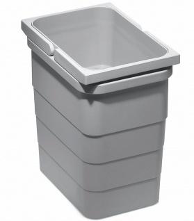 Ninka eins2vier Mülleimer Küche Abfalleimer Bad 5, 5 Liter Abfallsammler *9057