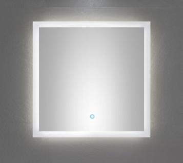 led badezimmer wand spiegel emotion 60 x 60 cm touch bedienung 34 w 4500 k 6060 kaufen bei. Black Bedroom Furniture Sets. Home Design Ideas