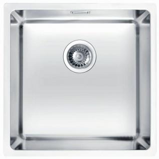 Unterbauspüle Edelstahl 44 cm Küchenspüle Unterbau Waschbecken Küche *1102697