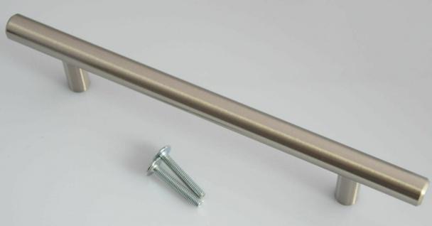 Küchengriff Möbelgriff BA 128 mm Stangengriff Edelstahl Optik Griffstange *4001