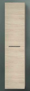 Hochschrank hängend Badschrank 40 cm Seitenschrank Badmöbel Linksanschlag *50421