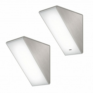 Flächen-LED Küchen Unterbauleuchte 2x4 W Unterbaulampe warmweiß Dimmer *571420