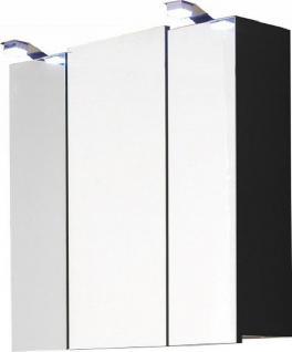 Badezimmer Spiegelschrank 68 cm LED Beleuchtung Licht Wand Badspiegel *5423