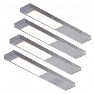 LED 4-er Set Küchen Unterbauleuchte NEOPLAN 4 x 2, 2 W Sensorschalter *551705