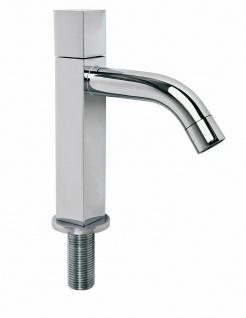 Standventil Kaltwasser Gäste Bad Armatur Wasserhahn LAGO Messing verchromt *0611