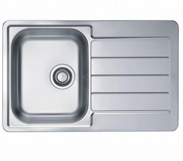 Küchenspüle Line 80 Einbauspüle 79x50 cm Spüle edelstahl 1 Spülbecken *1066750