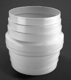 Kondenswassersammler Ø 125mm Abluft Rundrohr Abzugshaube Dunstabzug Küche *50131