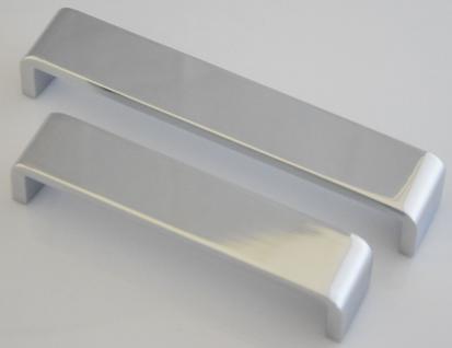 Kommoden-/Möbelgriff BA 128, 160 mm Schrank Bügel Tür Küchengriff Chrom *1096-04