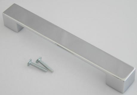 Küchengriffe BA 160 mm Schrankgriffe Türgriffe chrom Möbelgriffe Griff *626-04