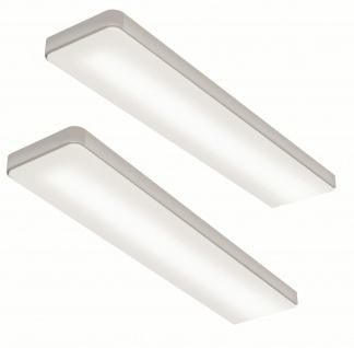 LED Unterbauleuchte Küche 2x6 W Flächen-LED Lichtfarbe regelbar Touch *567638