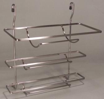 3-fach Rollenhalter Relingsystem QUAD Küchenreling Küchenrollenhalter *42113