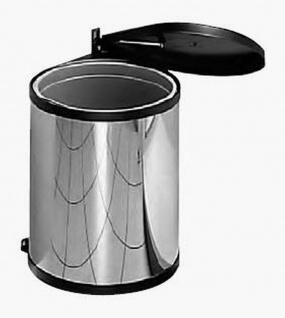 Einbau-Mülleimer Küche 12L Kosmetikeimer Edelstahl Abfalleimer Bioeimer *515998 - Vorschau 2