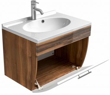 Badmöbel-Set Salona Badset 5 Teile Doppel-Waschplatz 70 cm Badezimmer *8000048 - Vorschau 3