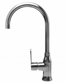 Alveus Küchenarmatur Wasserhahn Mischbatterie Anthrazit Einhandmischer *1095003