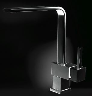 Alveus Küchenarmatur LAGUNA Wasserhahn Spüle Einhebelmischer Anthrazit *1088537