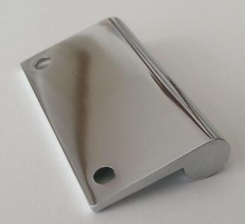 Badezimmer Spiegelschrankgriff Möbelgriff BA 32 mm Türgriff Türöffner Chrom *514