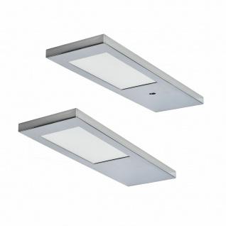Flächen-LED Unterbauleuchte Küche Unterbaulampe 2x3, 5 W Sensor Dimmer *571529