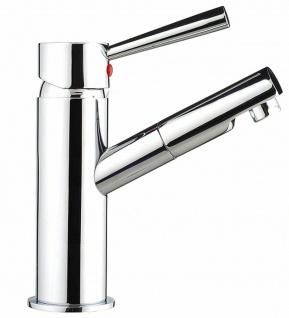 Badarmatur Einhandmischer Waschbecken-Armatur Waschtischarmatur Carlo *0426