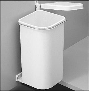 Hailo Pico Küchen Bio Abfall Mülleimer 5 Liter Badezimmer Kosmetikeimer *47430