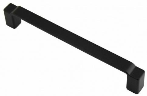 Schrankgriff Möbelgriff Küchengriff BA 160 mm Griffe Küche Türgriff schwarz *720