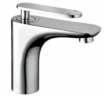 Waschtischarmatur Ola modernes Design Waschbecken Armatur Wasserhahn chrom *0484