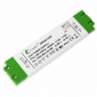 Konverter für LED Beleuchtung Leuchte Erle 30 W 12 Volt 6-fach Verteiler *554041