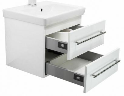 Gäste Bad Waschplatz 50 cm Villeroy & Boch Keramik Waschbecken Waschtisch *SUB50