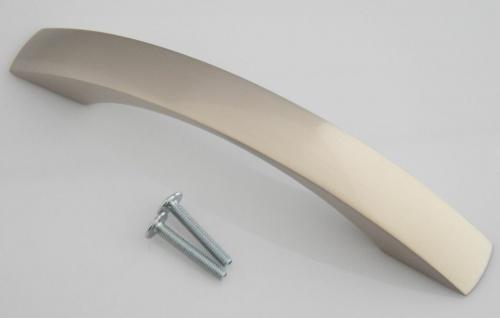 Möbelgriff Möbelgriffe BA 128 mm Schrankgriff Küchengriff Edelstahl Optik *1397