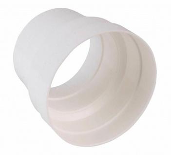 Reduzierstück Kunststoffrohr Ø 150 mm auf Ø 125 mm Lüftungsrohr Küche PVC *50172