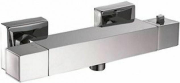 Duscharmatur Thermostat Badarmatur Duschthermostat Einhandmischer Dusche *0437