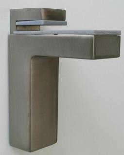Regalbodenhalter Regalbodenträger 8-50 mm Edelstahl Optik Regalhalter *506-07 - Vorschau 1