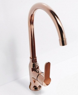 Alveus Spülen Küchen Armatur SLIM Wasserhahn Mischbatterie kupferfarbig *1095005