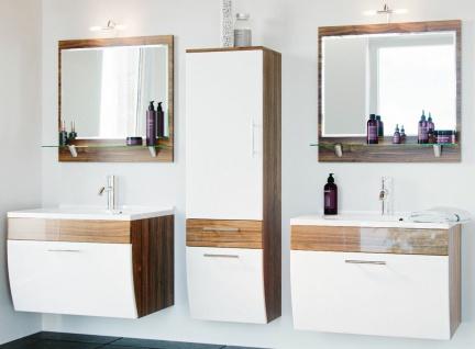 Badmöbel-Set Salona Badset 5 Teile Doppel-Waschplatz 70 cm Badezimmer *8000048
