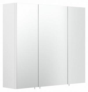Badezimmer Spiegelschrank 70 cm Badspiegel weiss 3-türig ohne Beleuchtung *5484
