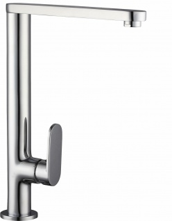 Design Wasserhahn Küchenarmatur RIO Verchromt Einhebel Einhandmischer *1066
